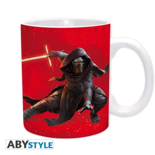 Coffret Star Wars : Kylo Ren (mug, porte-clés, stickers)