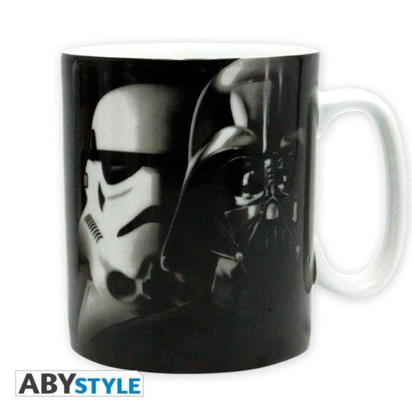Coffret Star Wars : Vador-Trooper (mug, porte-clés, badges)