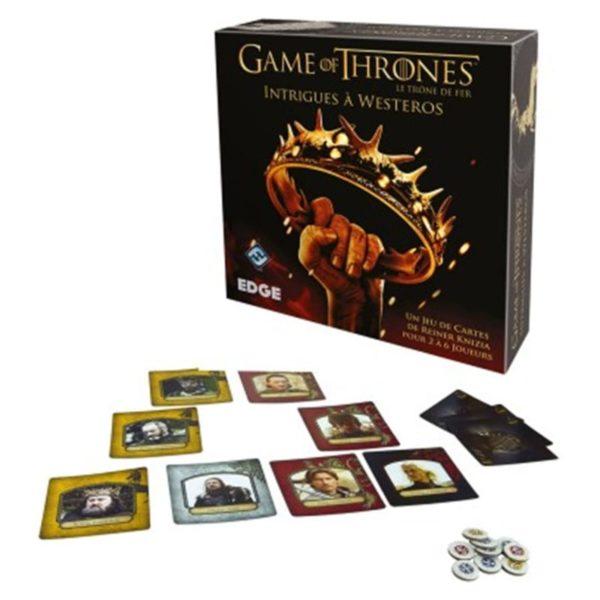 Jeu de société - Le trône de fer : intrigues à Westeros