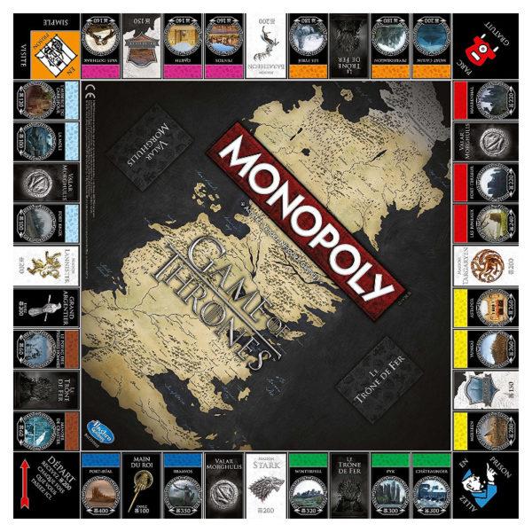 Jeu de société - Monopoly : Game of thrones