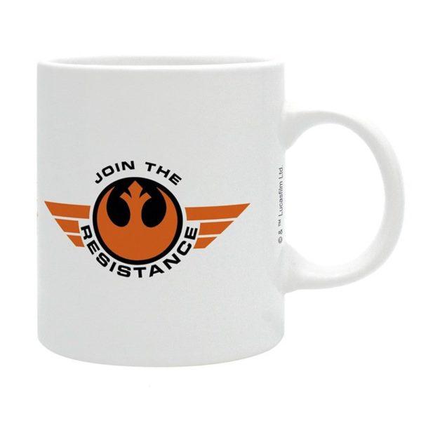 Mug Star Wars : BB8 et la résistance (320ml)