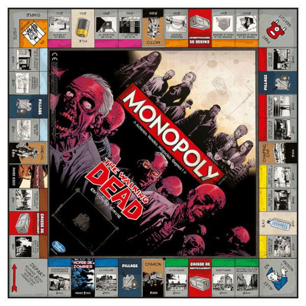 Jeu de société - Monopoly : Walking dead