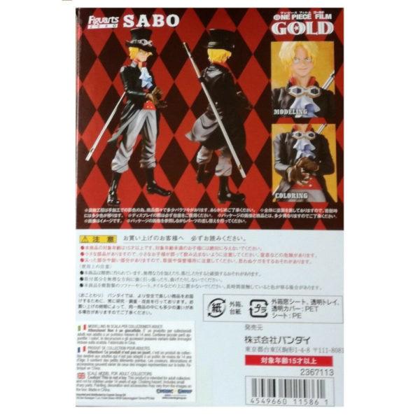 Figurine One Piece : Figuarts Zero Film Gold Sabo