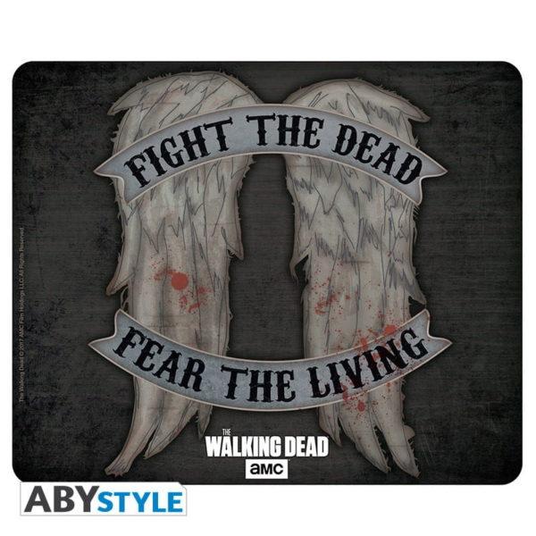 Tapis de souris the Walking dead : Daryl wings