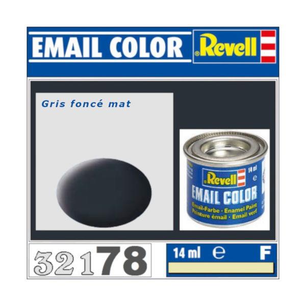 Peinture Revell - Gris foncé mat