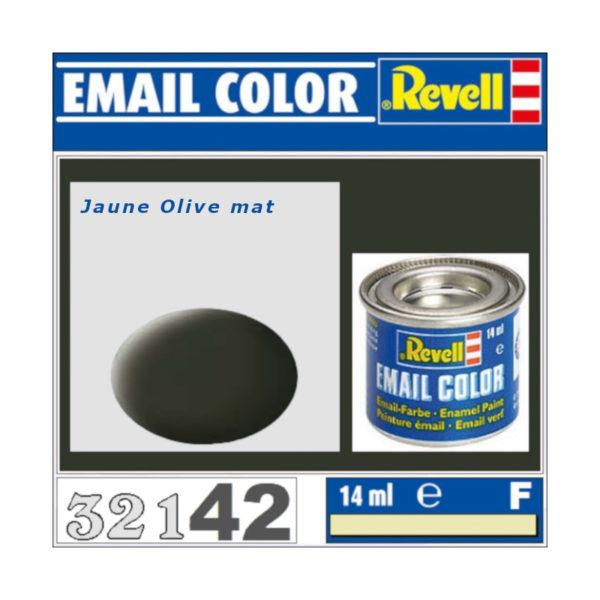 Peinture Revell - Jaune olive mat