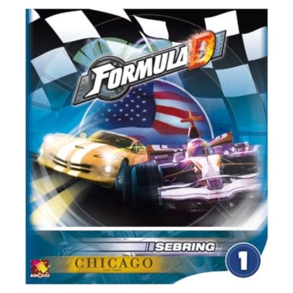 Jeu de société - Formula D : Sebring / Chicago (extension)