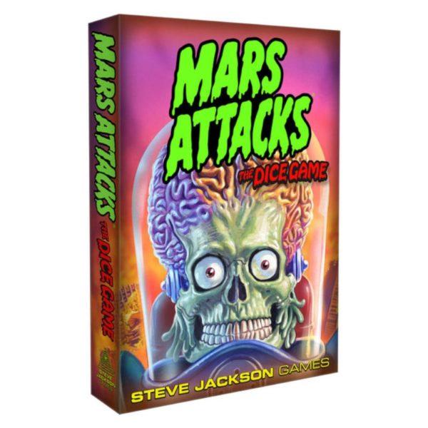 Jeu de société - Mars attack : le jeu de dés
