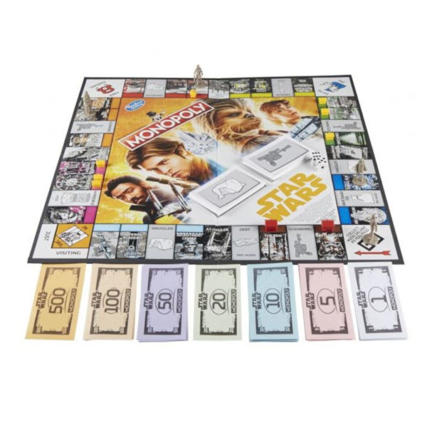 Jeu de société - Monopoly Star Wars édition Solo