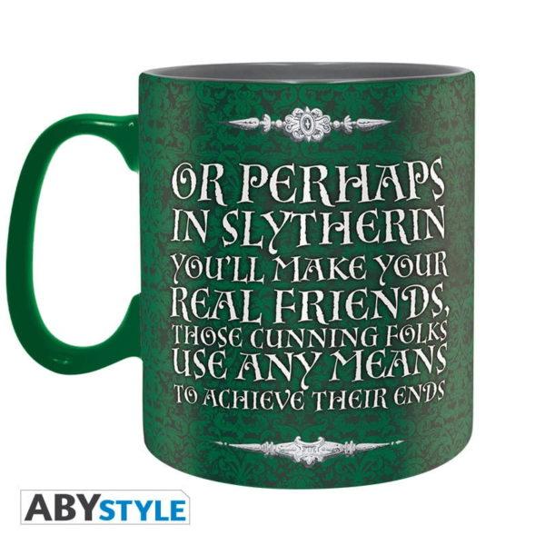 Coffret Harry Potter : Serpentard (mug, porte-clés, badges)