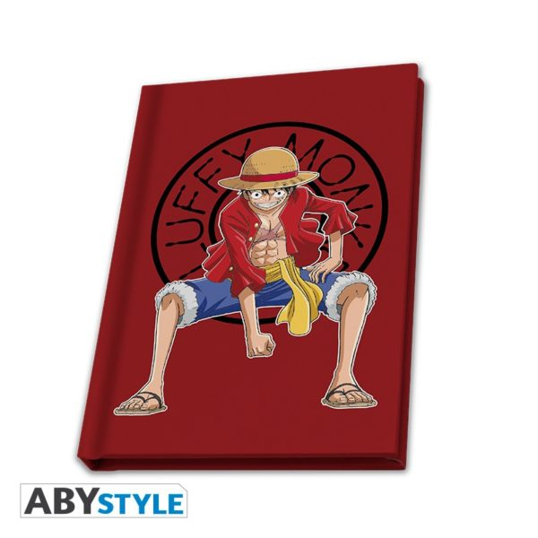 Coffret One piece : Luffy (mug, porte-clé, cahier)