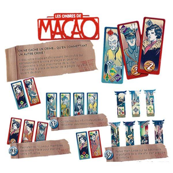 Jeu de société - Les ombres de Macao