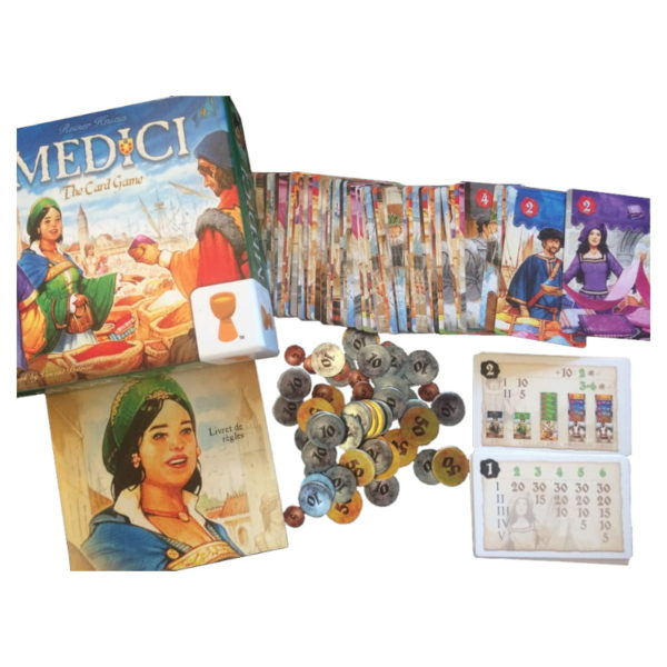 Jeu de société - Medici : the card game