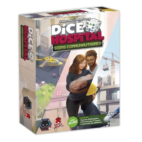 Dice hospital : soins communautaires deluxe (extension)