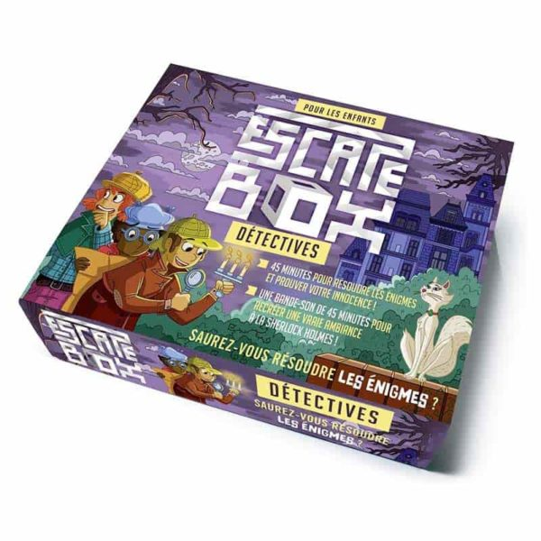 Escape box : détectives
