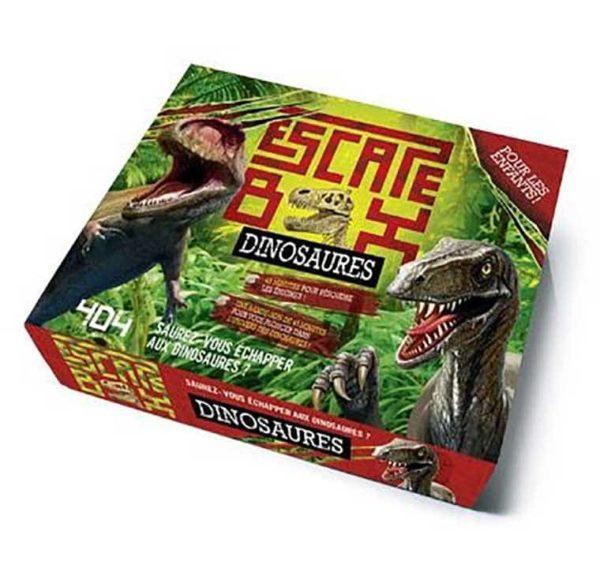 Escape box : dinosaures