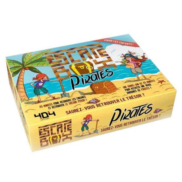 Escape box : Pirates