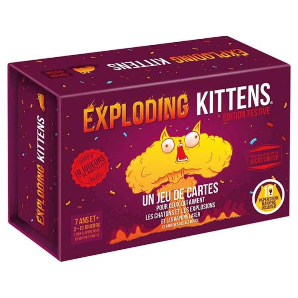 Exploding kitten édition festive