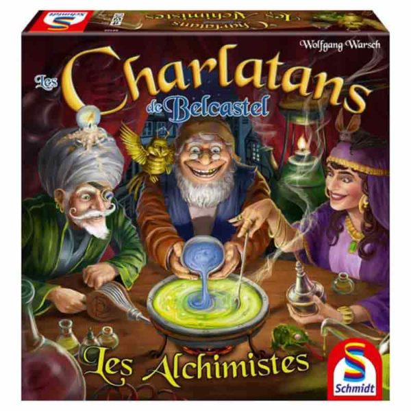 Les charlatans de Belcastel : les alchimistes (extension)