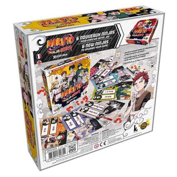 Naruto ninja arena : genin pack (extension)