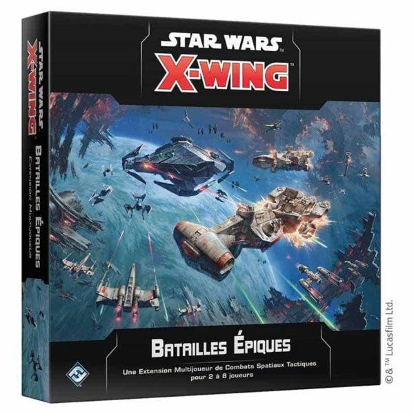 Star Wars X-wing 2.0 : batailles épiques (extension)