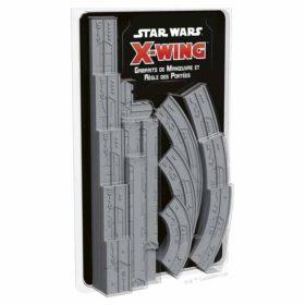 Star Wars X-wing 2.0 : gabarits de manoeuvre et règle des portée (accessoire)