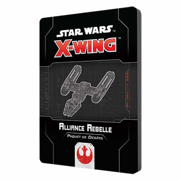 Star Wars X-wing 2.0 : paquet dégâts Alliance Rebelle (accessoire)