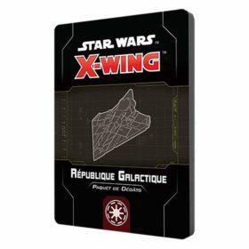Star Wars X-wing 2.0 : paquet dégâts République Galactique (accessoire)
