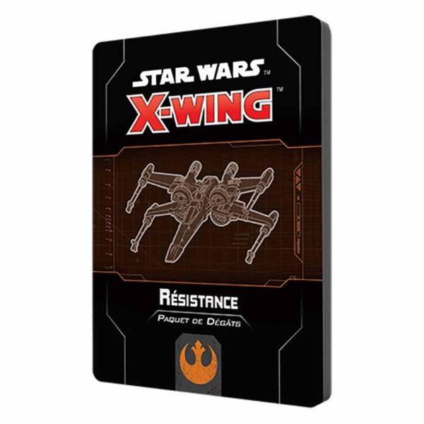 Star Wars X-wing 2.0 : paquet dégâts Résistance (accessoire)