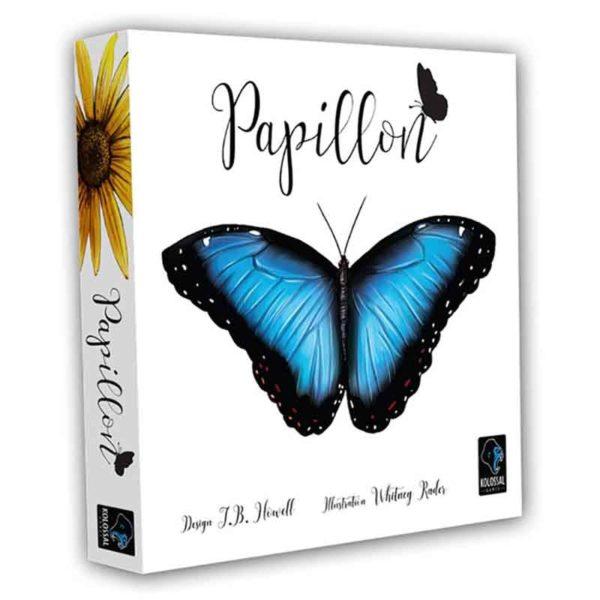 Papillon : dans la prairie (extension)