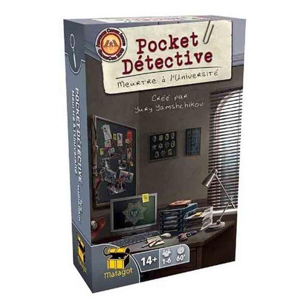 Pocket detective : meurtre à l'université