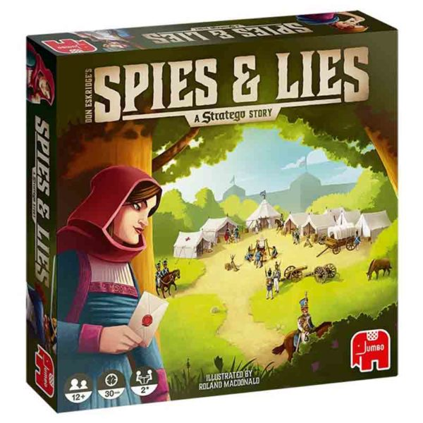 Spies and lies : a stratego story