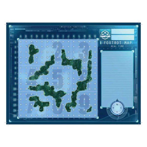 Captain sonar : Foxtrot maps (goodies)