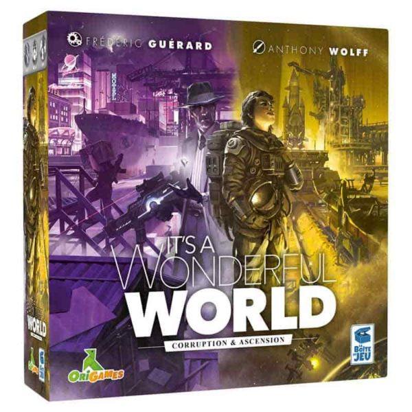 It's a wonderful world : corruption et ascension (extension)