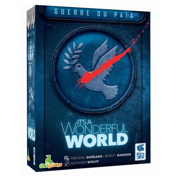 It's a wonderful world : guerre ou paix (extension)