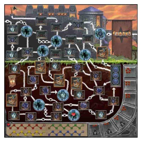 Clank ! : les aventuriers du deck-building