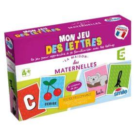 La maison des maternelles : mon jeu des lettres